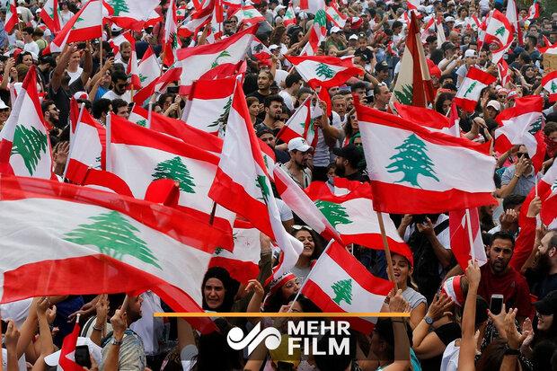 لبنانی حکومت کے خلاف عوامی احتجاج کے بارے میں رپورٹ