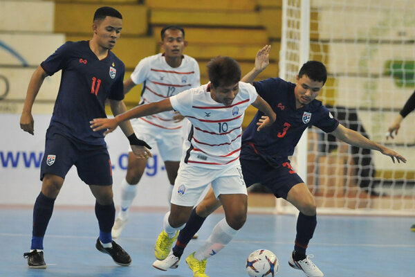 پیروزی ۱۲ گُله تایلند مقابل کامبوج/ میانمار با برد شروع کرد