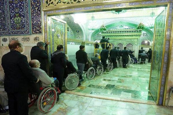 اعزام جانبازان استان کرمانشاه به اردوی مشهد مقدس