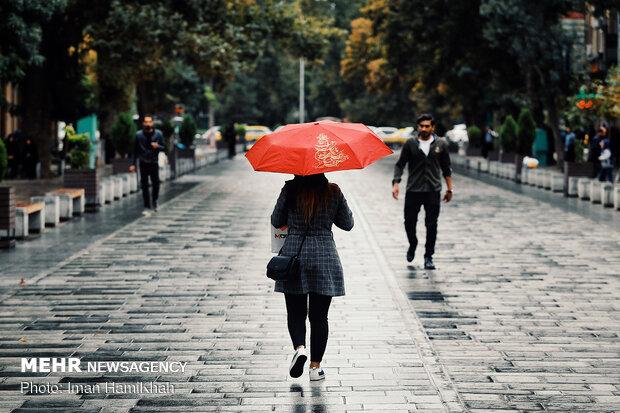 تداوم بارش ها در استان تهران