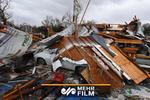 إعصار يضرب مدينة دالاس الامريكية