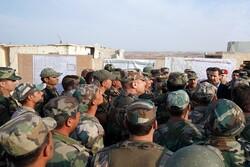 شام کے صدر نے جنگ کے اگلے مورچوں کا دورہ کیا