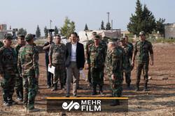 بشار اسد کا ادلب میں حضور اور فوجی کمانڈروں سے ملاقات