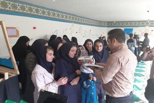 برنامه های فرهنگی قرارگاه پیشرفت و آبادانی در روستای طارم اجرا شد