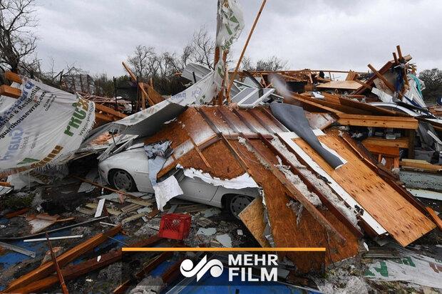 VIDEO: Devastating tornado hits Dallas
