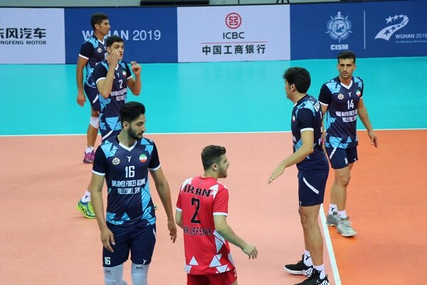 Iran volleyball beats Canada in 7th CISM Military World Games