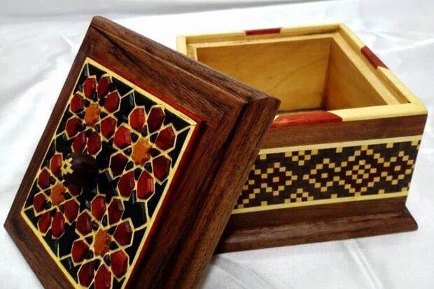 Iranian handicrafts exhibited in Muscat