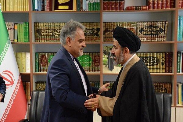سفیر ایران در ترکیه از مرز رازی خوی بازدید کرد