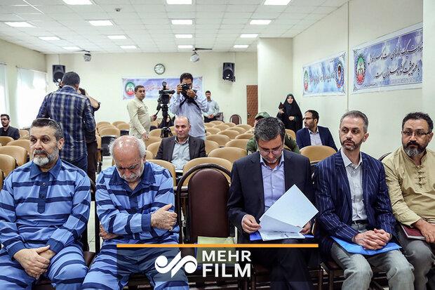 پنجمین جلسه دادگاه متهمان بانکهای ملت و پارسیان