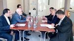 باکو میں ایران اور عراق کے وزراء خارجہ کی ملاقات