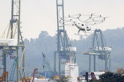 VIDEO: Volocopter air taxi flies in Singapore