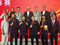 Iran Wushu Sanda team claim world title