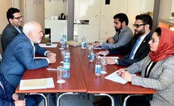FM Zarif, Afghan official discuss security issues
