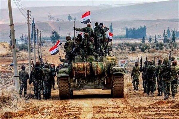 عملیات ضد تروریستی ارتش سوریه در محور «الراشدین»