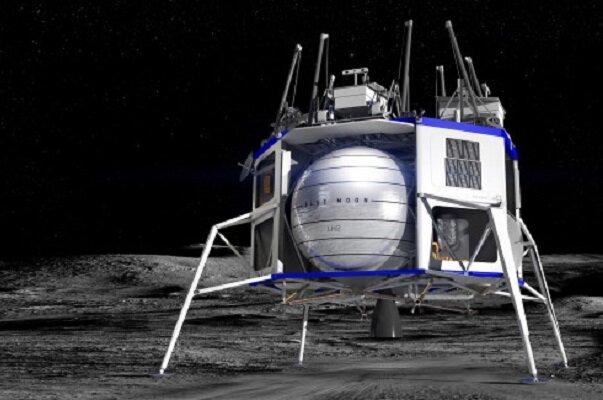 تولید سفینه ماه نشین ناسا توسط «بلو اوریجین»
