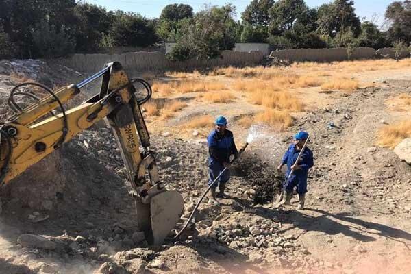 شناسایی و جمع آوری یک انشعاب غیر مجاز آب در شهریار