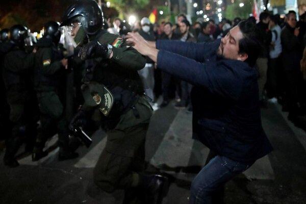 اعتراض مردم بولیوی به نتایج انتخابات ریاست جمهوری