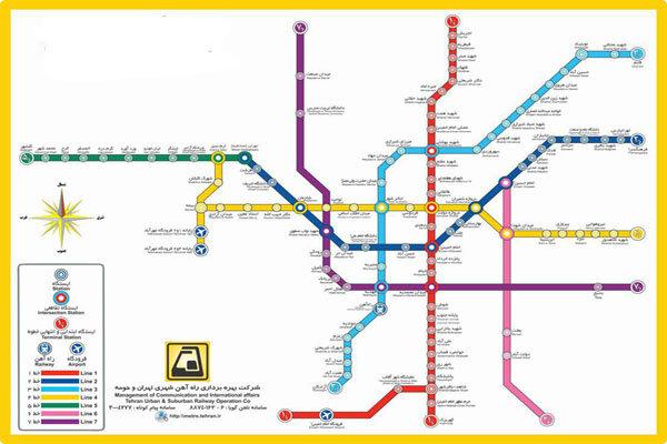 نقشه هایی که مسافران را به مقصد نمی رسانند/ نقشه مترو یا آرزوها