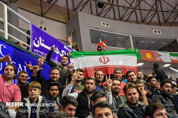 دیدار تیم های ملی فوتسال ایران و ترکمنستان