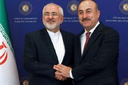 VIDEO: Iran, Turkey FMs meet in Baku