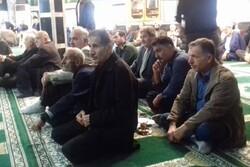 مراسم تجلیل از پیرغلامان حسینیدر رودسر برگزار شد
