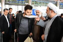 اعزام هیات های مذهبی استان به سمت مشهد مقدس برای دهه آخر ماه صفر