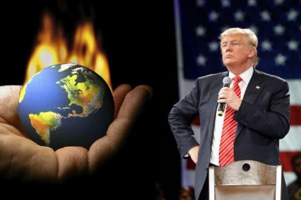 ترامپ بر طرح خروج آمریکا از «توافقنامه پاریس» مُهر تأیید می زند
