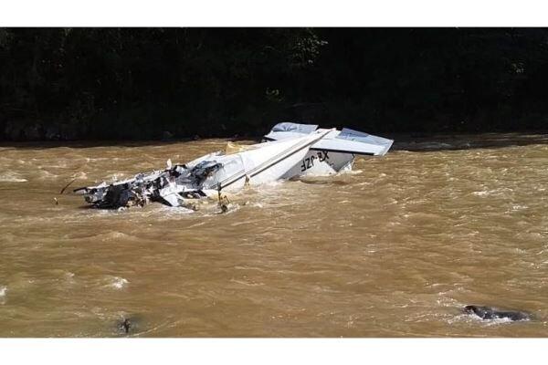 کیلی فورنیا میں ایک چھوٹا طیارہ گر کر تباہ/ پائلٹ ہلاک