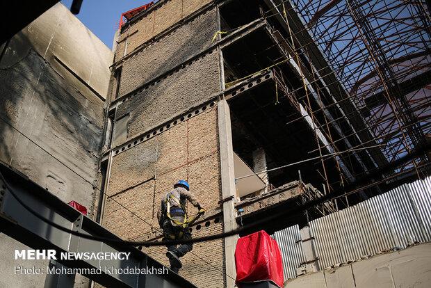 Reconstruction of Plasco building