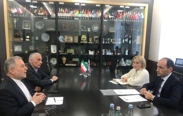 سفیر کشورمان در گرجستان با وزیر کشاورزی این کشور دیدار کرد