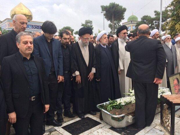پیکر نخستین استاندار گلستان تشییع شد