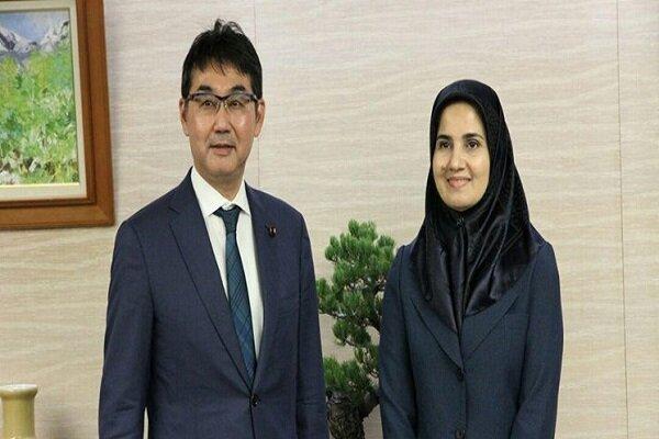 جنیدی با وزیر دادگستری ژاپن دیدار کرد