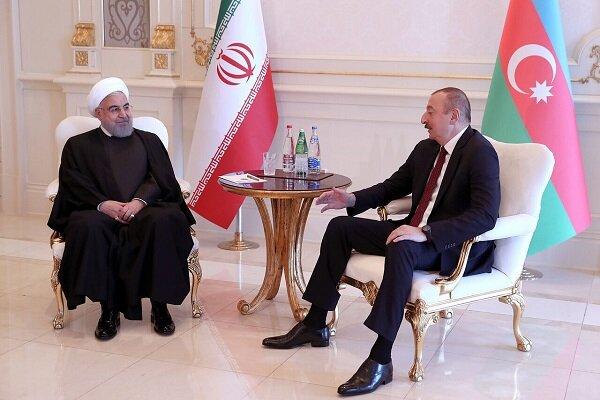 روحاني: ايران مستعدة لبناء محطة لتوليد الطاقة في اذربيجان
