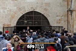 قوات الإحتلال الصهيوني تغلق باب الرحمة