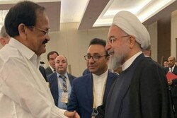 Indian VP meets with President Rouhani in Baku