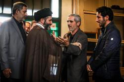 مراسم ترحیم حجت الاسلام مصطفی آژینی