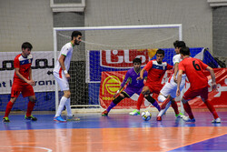 Iran-Kyrgyzstan futsal match at Asian C'ship 2020