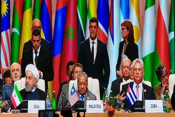 اجلاس سران کشورهای عضو جنبش عدم تعهد در باکو آغاز شد