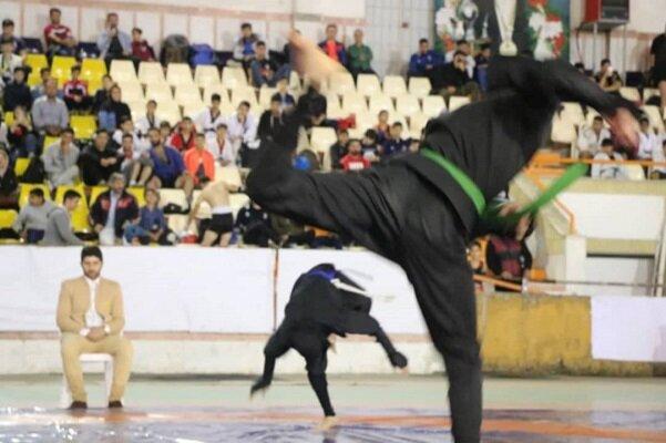 نخستین جشنواره ورزشهای رزمی گیلان در انزلی برگزار شد