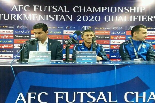 ازبکستان یکی از مدعیان قهرمانی در مرحله نهایی فوتسال است