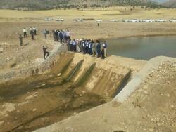 آبگیری۱۰۰درصد ظرفیت سازههای آبخیزداری شهرستان قشم