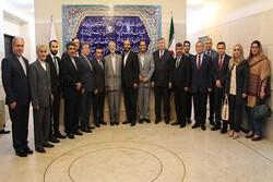 دیدار رئیس بنیاد سعدی با سفرای کشورهای فارسیزبان در تهران