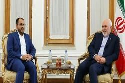 Zarif bugün Yemen Ensarullah Hareketi Sözcüsü ile görüştü