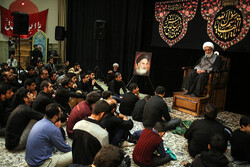 امامزادہ قاضی الصابر میں پیغمبر اسلام (ص) کی رحلت کی مناسبت سے عزاداری