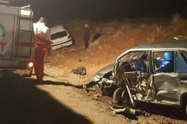 یک کشته و ۴ مجروح در سانحه تصادف رانندگی در جاده پلدختر- خرمآباد