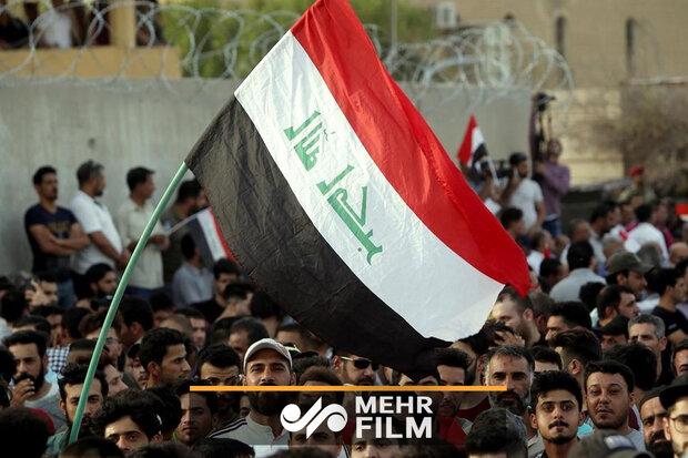 تظاهرات مسالمت آمیز همچنان در عراق ادامه دارد