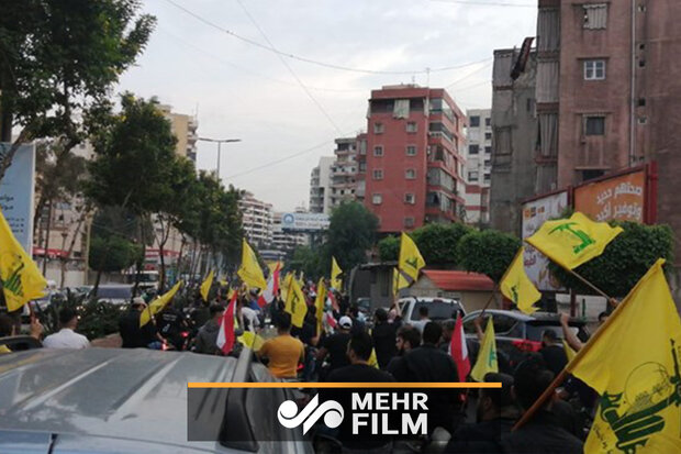 VIDEO: People supporting Hezbollah following Nasrallah's speech