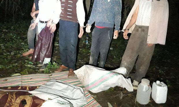 ۵ حفار غیر مجاز در شهرستان گرگان دستگیر شدند