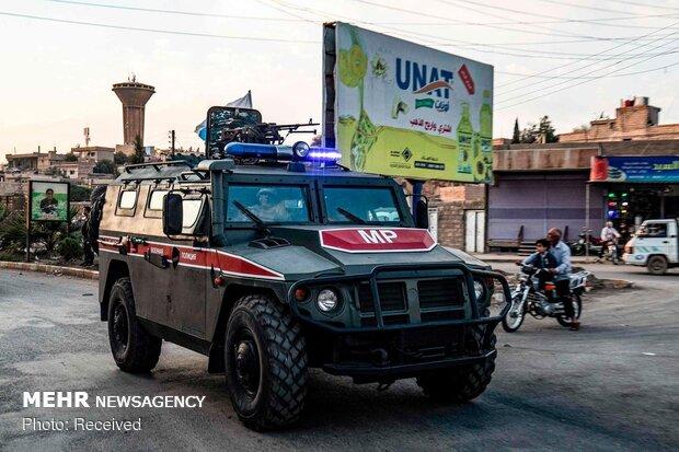 استقرار نیروهای روسی در مناطق مرزی سوریه