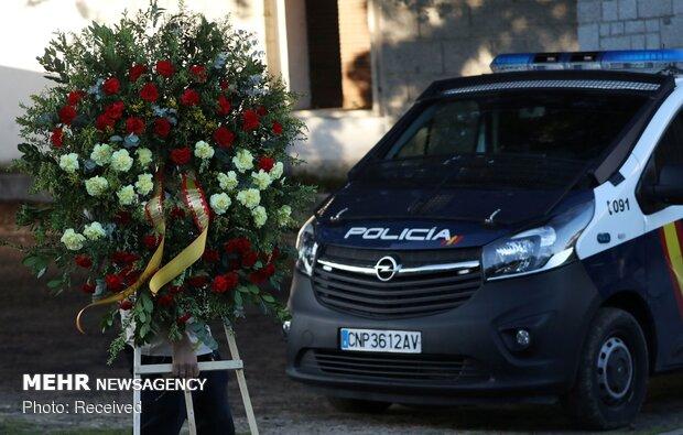 انتقال جسد ژنرال فرانکو